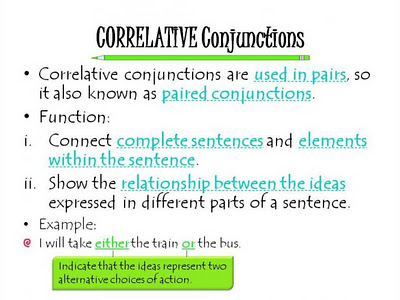 What Is a Conjunction? Subordinating Conjunction, Correlative ...